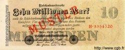 10 Millionen Mark ALLEMAGNE  1923 P.096s pr.NEUF