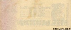 20 Millionen Mark ALLEMAGNE  1923 P.097b TTB