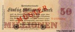 50 Millionen Mark ALLEMAGNE  1923 P.109s NEUF