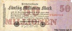 50 Millionen Mark ALLEMAGNE  1923 P.109 TB