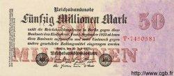 50 Millionen Mark ALLEMAGNE  1923 P.109 pr.NEUF