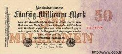 50 Millionen Mark ALLEMAGNE  1923 P.109 SPL