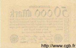 50000 Mark ALLEMAGNE  1923 P.099 TTB+