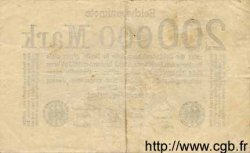 200000 Mark ALLEMAGNE  1923 P.100 TB+