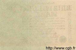 1 Million Mark ALLEMAGNE  1923 P.101s pr.NEUF
