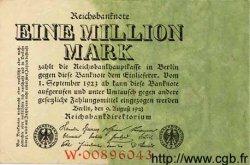 1 Million Mark ALLEMAGNE  1923 P.101 TTB+ à SUP