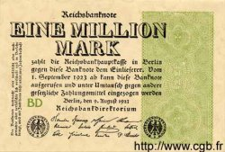 1 Million Mark ALLEMAGNE  1923 P.102b TTB