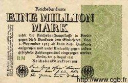 1 Million Mark ALLEMAGNE  1923 P.102d TTB