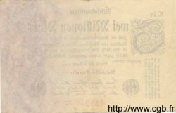 2 Millionen Mark ALLEMAGNE  1923 P.103 TTB+