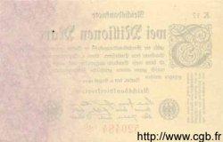 2 Millionen Mark ALLEMAGNE  1923 P.103 pr.NEUF