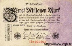 2 Millionen Mark ALLEMAGNE  1923 P.103 TB