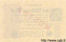 2 Millionen Mark ALLEMAGNE  1923 P.104as pr.NEUF