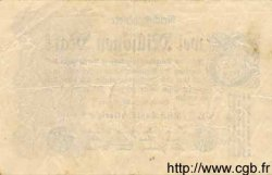 2 Millionen Mark ALLEMAGNE  1923 P.104a TTB