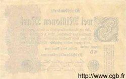 2 Millionen Mark ALLEMAGNE  1923 P.104a SUP