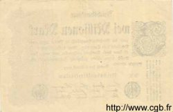2 Millionen Mark ALLEMAGNE  1923 P.104a SPL+