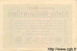 50 Millionen Mark ALLEMAGNE  1923 P.109f SPL