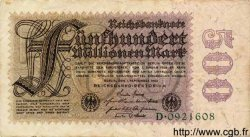 500 Millionen Mark ALLEMAGNE  1923 P.110a TB