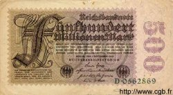 500 Millionen Mark ALLEMAGNE  1923 P.110a TTB