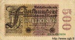 500 Millionen Mark ALLEMAGNE  1923 P.110b B+