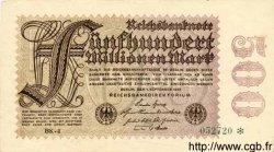 500 Millionen Mark ALLEMAGNE  1923 P.110f pr.SPL