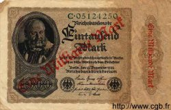 1 Milliarde Mark sur 1000 Mark ALLEMAGNE  1922 P.113a TB+