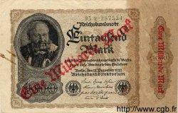 1 Milliarde Mark sur 1000 Mark ALLEMAGNE  1922 P.113a TTB