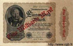 1 Milliarde Mark sur 1000 Mark ALLEMAGNE  1922 P.113a SUP