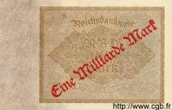 1 Milliarde Mark sur 1000 Mark ALLEMAGNE  1922 P.113a SPL