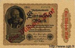 1 Milliarde Mark sur 1000 Mark ALLEMAGNE  1922 P.113b SPL