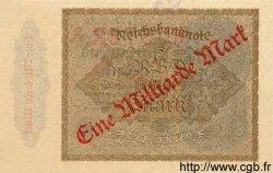 1 Milliarde Mark sur 1000 Mark ALLEMAGNE  1922 P.113bs SPL
