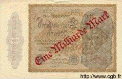 1 Milliarde Mark sur 1000 Mark ALLEMAGNE  1922 P.113b TB à TTB