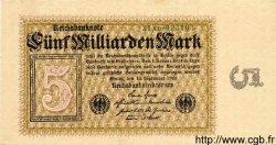 5 Milliarden Mark ALLEMAGNE  1923 P.115b pr.SUP