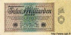 10 Milliarden Mark ALLEMAGNE  1923 P.116a SPL