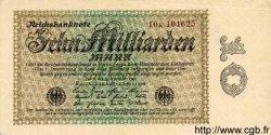 10 Milliarden Mark ALLEMAGNE  1923 P.116b SUP