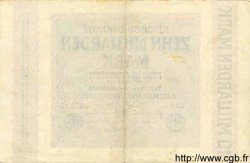 10 Milliarden Mark ALLEMAGNE  1923 P.117a TTB