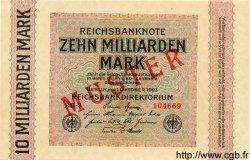 10 Milliarden Mark ALLEMAGNE  1923 P.117es NEUF