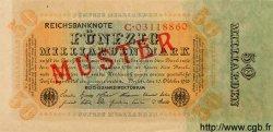 50 Milliarden Mark ALLEMAGNE  1923 P.119s NEUF