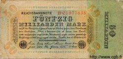 50 Milliarden Mark ALLEMAGNE  1923 P.119 B