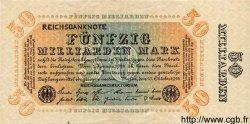 50 Milliarden Mark ALLEMAGNE  1923 P.119c SUP