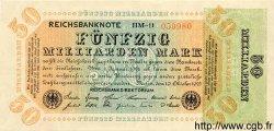 50 Milliarden Mark ALLEMAGNE  1923 P.120a pr.NEUF