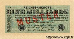 1 Milliarde Mark ALLEMAGNE  1923 P.122s NEUF