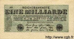 1 Milliarde Mark ALLEMAGNE  1923 P.122 TB