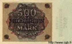 500 Milliarden Mark sur 5000 Mark ALLEMAGNE  1923 P.124a TTB