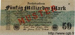 50 Milliarden Mark ALLEMAGNE  1923 P.125as NEUF