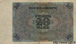 20 Billionen Mark ALLEMAGNE  1924 P.138 TB+