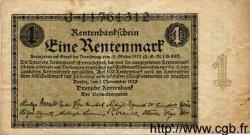 1 Rentenmark ALLEMAGNE  1923 P.161 TTB