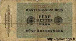 5 Rentenmark ALLEMAGNE  1923 P.163 pr.B