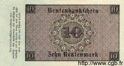 10 Rentenmark ALLEMAGNE  1923 P.164 SPL