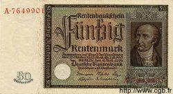 50 Rentenmark ALLEMAGNE  1934 P.172 SPL+