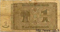 1 Rentenmark ALLEMAGNE  1937 P.173a pr.B